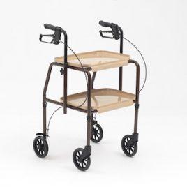 Desserte de table 4 roues avec freins