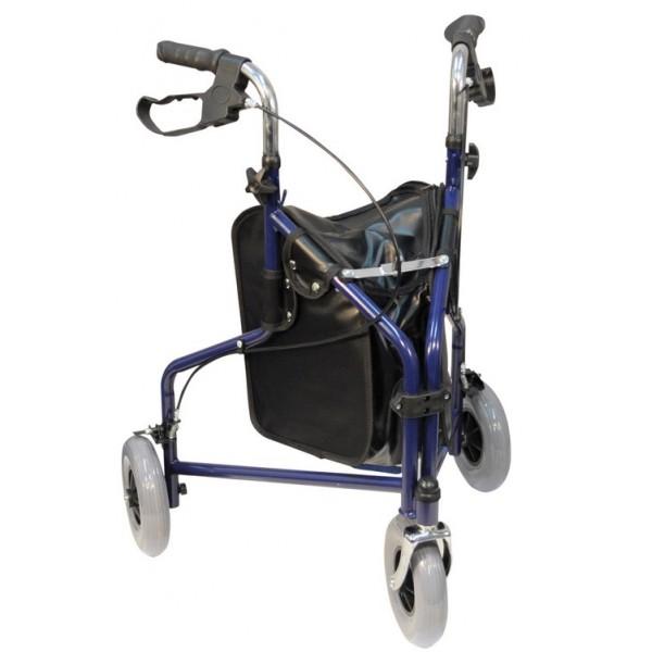d ambulateur rollator 3 roues saint jean medical. Black Bedroom Furniture Sets. Home Design Ideas